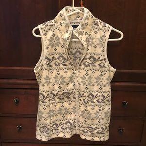 Fleece vest, worn once